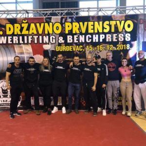 Powerlifting klub Štanga iz Zagreba